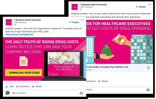 T-Systems LinkedIn Ads | Digitopia