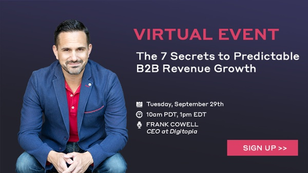 7 Secrets Promo Banner | RevOps Event