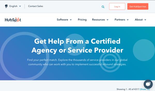 HubSpot Solutions Partner Directory
