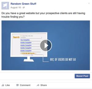 Manually Uploaded FB Video
