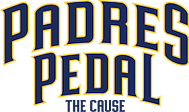 padres pedal the cause logo