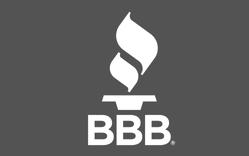 bbb logo greyed out