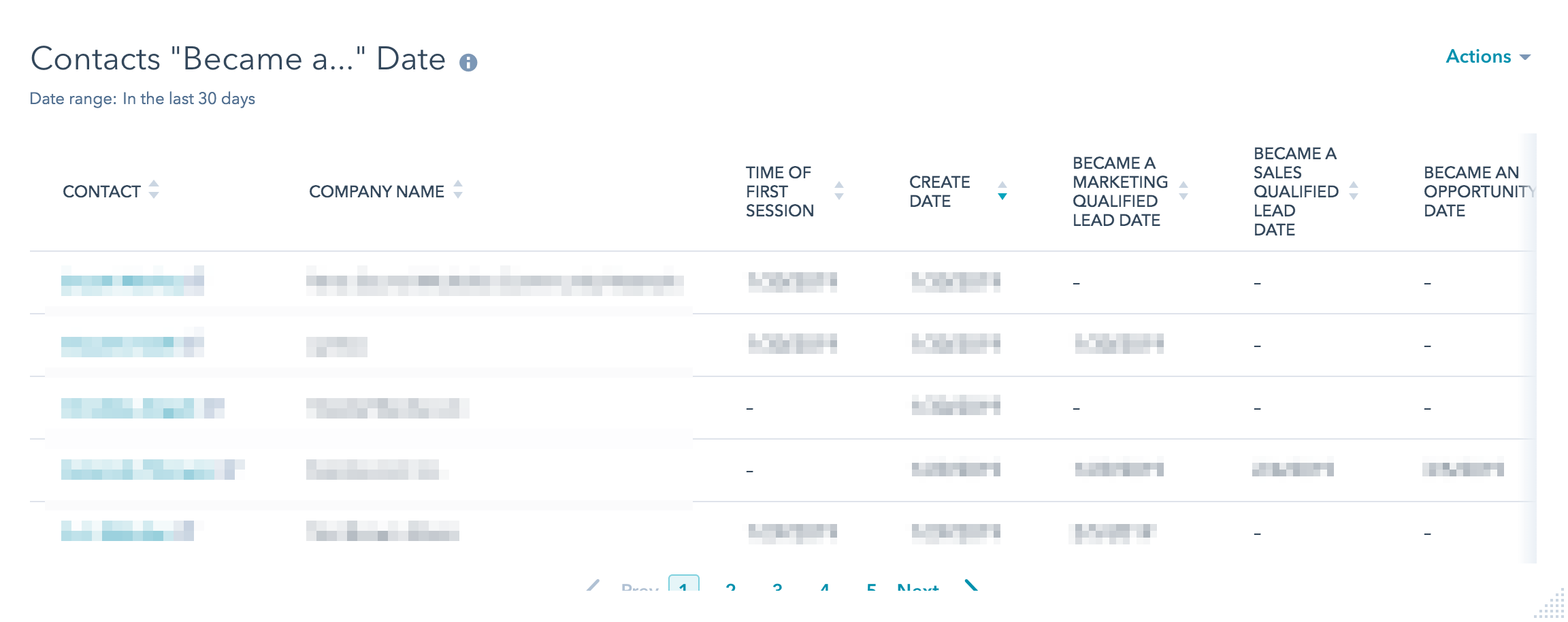 hubspot-report-contacts-became-a-date