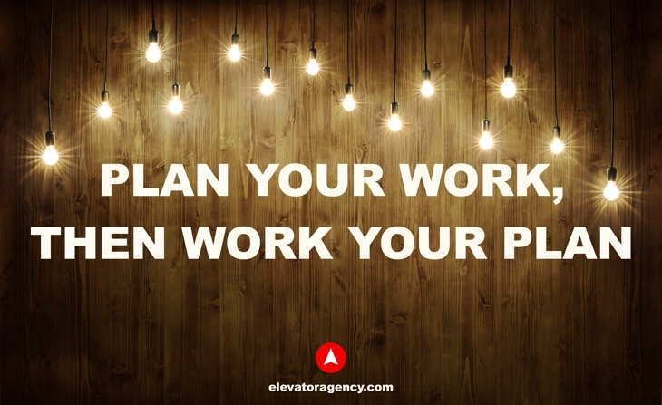 The key to inbound marketing: plan your work, then work your plan