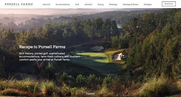 Pursell farms website