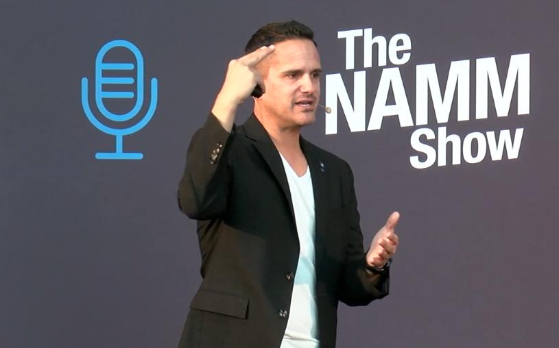 Frank At NAMM 2020