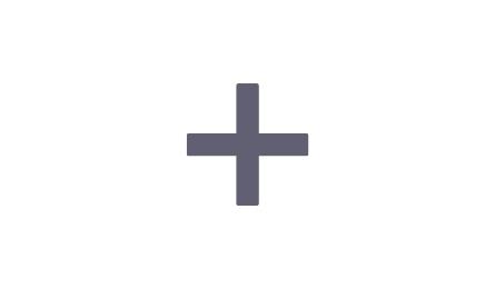 Plus symbol for integration page